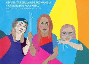 Escuelita popular de tecnología y creatividad para niñas